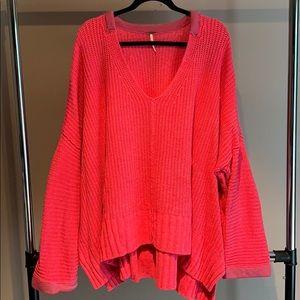 Free People Oversized Sweater - L